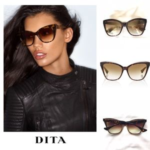 Dita Superstition Cat Eye Sunglasses